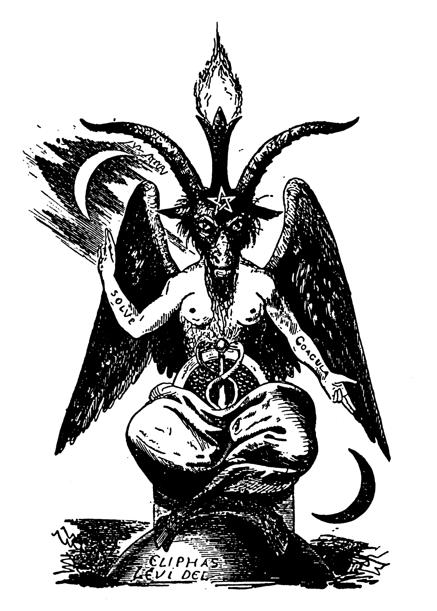 Baphomet as a symbol of self deification the sect of the horned god baphomet biocorpaavc Images